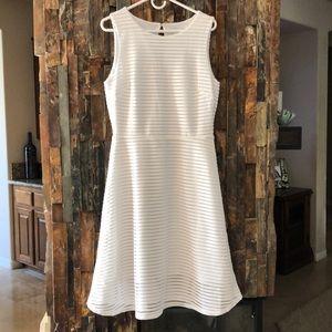 Stunning white and sheer dress